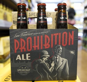BevMo! Opens In Lodi: Speakeasy Prohib-ition Ale from San Francisco : $9.89  - Photo by Dan Evans/News-Sentinel