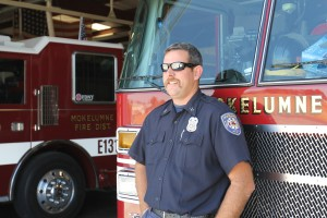 Local fire captain Brandon Wright prepares for third deployment
