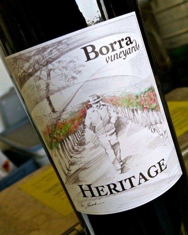 Borra's Heritage Field Blend infuses luscious fruit with a zesty taste