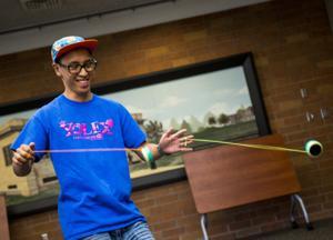 Members of Roseville club Yolex visit Lodi to share their love of yo-yos