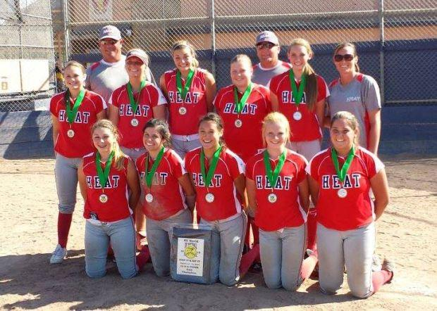 Valley Heat Fastpitch (Snow) team wins 16/18U Gold Division Tournament to end summer season