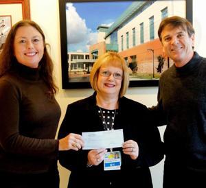 Lodi Memorial Hospital Founation donates to Walter Reiss Outreach program