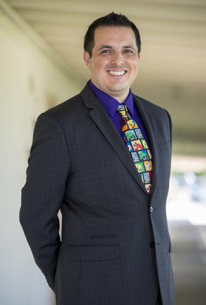 Principal Rafael Ceja is ready to face any challenge at Live Oak Elementary School