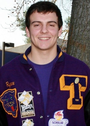 Tokay High School athlete Ryan Rogero pushes studies off field