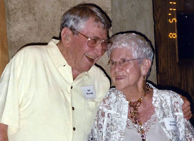 Bill and Grace Reynolds celebrate 70 years of marriage in Plymouth