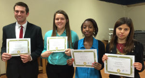 Rotary Club of Lodi Speech Contest winners