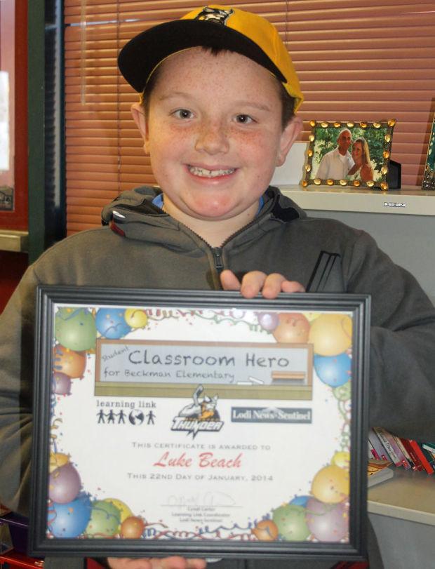 Beckman Elementary School Classroom Heroes
