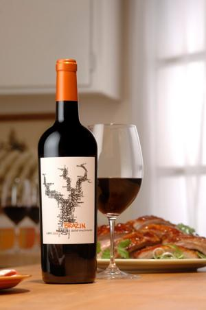 Enjoy a bouncy, saucy flavor in the 2007 Brazin (B) Old Vine Zinfandel