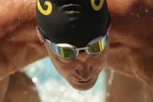 Young swimmers in Galt learn from Olympic champions