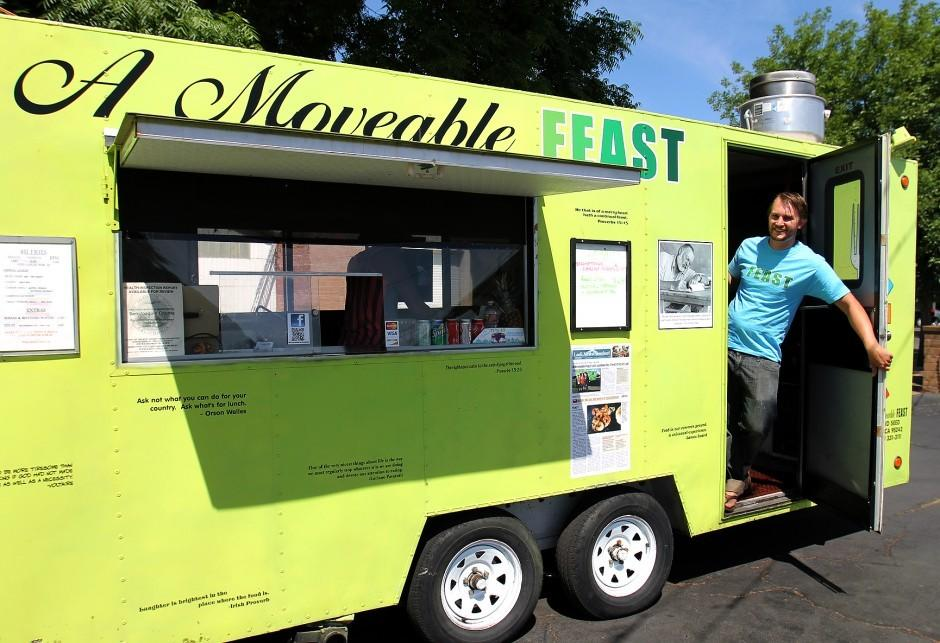 Sandwiches, 'fine grub' rolls into Lodi with A Moveable Feast