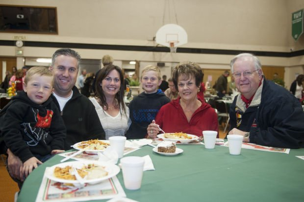 Lodi Christian School's spaghetti dinner
