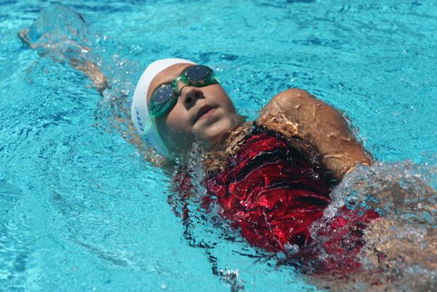 C.J. Porter takes high-point award at Tuolumne County Aquatics swim meet
