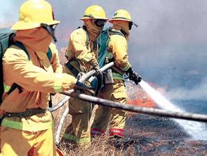 Area firefighters gather to train, brace for fire season