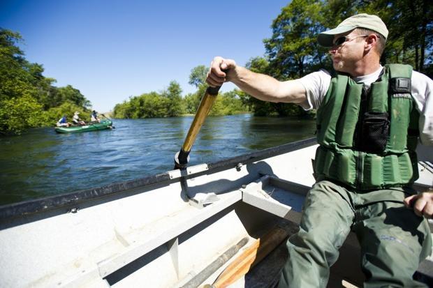 Rafting on the wild Mokelumne River