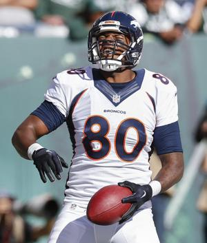 Catching touchdows looks effortless for former Tokay Tiger Julius Thomas