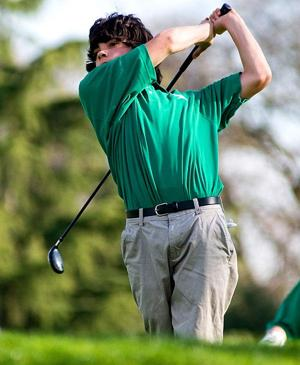 First-year Liberty Ranch Hawks swinging away in golf