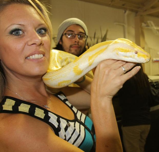 Reptiles are a labor of love for Christian Guzman
