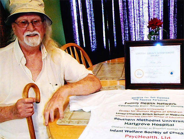 Woodbridge man honored with lifetime award for advocacy against child abuse
