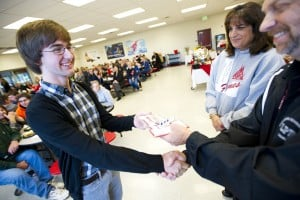 Red letter day for hard-working Lodi students