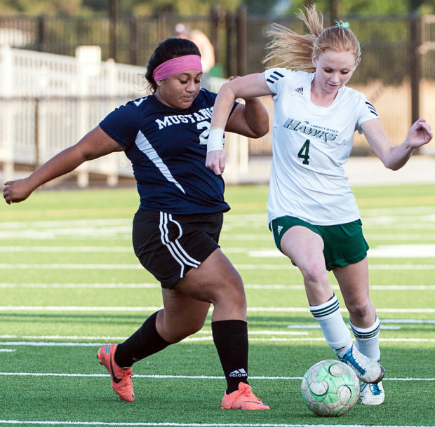 Savannah Porter a versatile performer for Liberty Ranch Hawks varsity girls soccer team