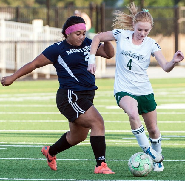 Savannah Porter a versatile performer for Liberty Ranch Hawks varsity girls soccer team