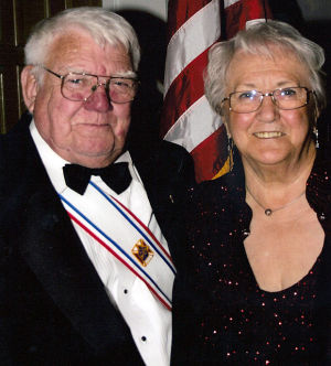 Jack and Connie Bridgford celebrated 60th wedding anniversary in April