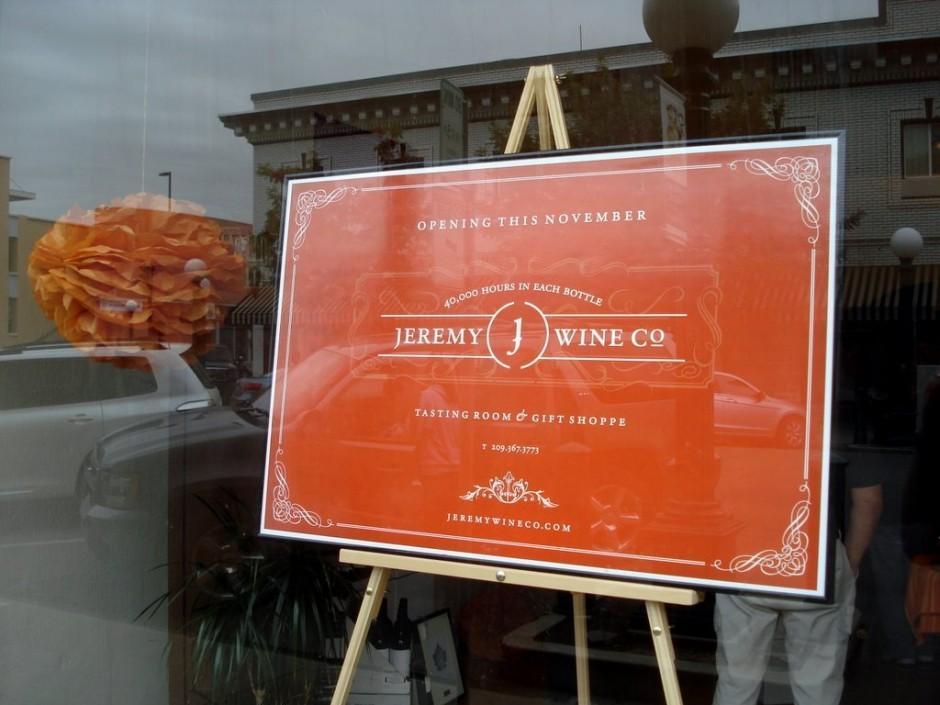 Jeremy Wine Company on Pine Street