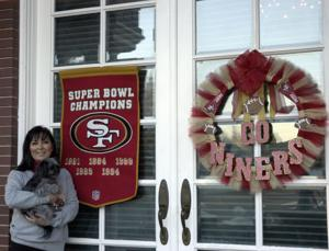 San Francisco 49ers fans declare their allegiance