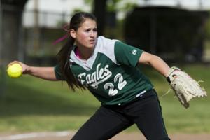 Eagles not flying solo atop softball standings