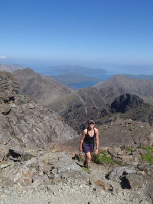 Tokay High School graduate Jamie Aarons reaches mountain-climbing goal in Scotland