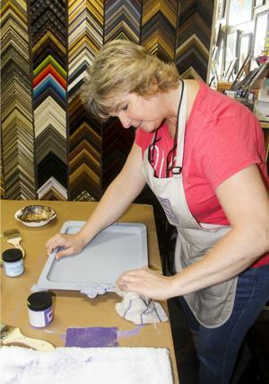 Lodi small business owner Julie McKinley is a framing expert with a background in strength