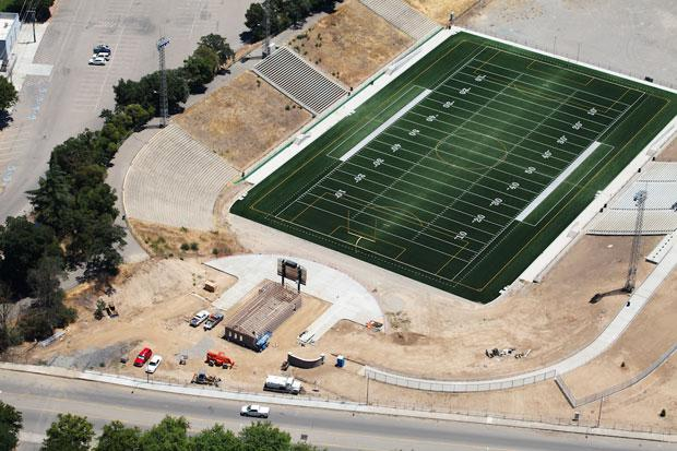 Lodi Grape Bowl construction nears completion
