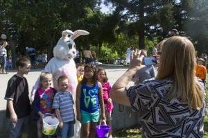 Photos: Hutchins Street Square Easter egg hunt