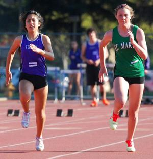 Girls track and field: Tigers defeat Rams