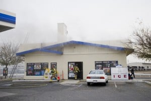 Local gas station closed after fire destroys interior
