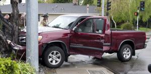 Vehicles collide on Lodi Avenue, one injured