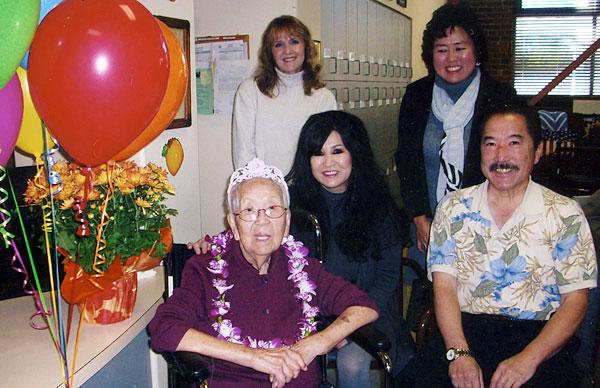 Lodi resident Mildred Takaki celebrated 100th birthday this month