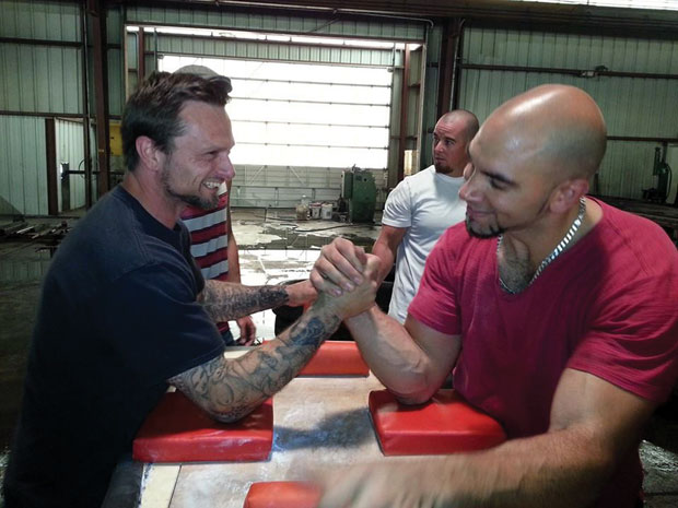 Two-time national champion arm wrestler Alex Coleman looks to pump up Lodi
