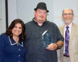 Houston School custodian Robert Sieler named Classified Employee of the Year