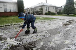 Hail storm hits Lodi; not enough to touch drought