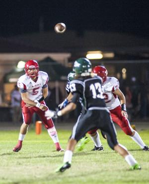 Football: Flames soar past Eagles for first win