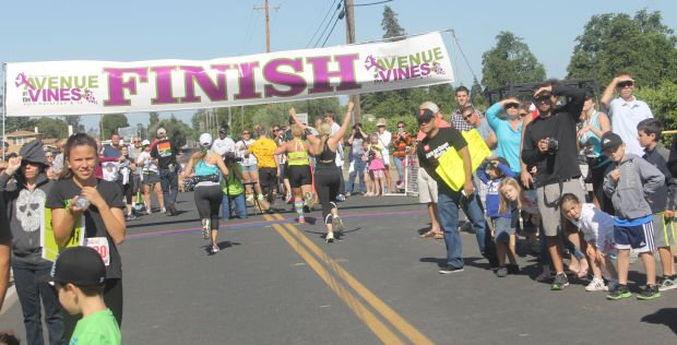 Avenue of the Vines run was biggest event ever