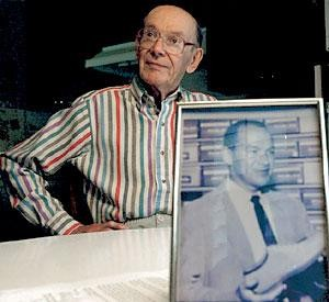 Jack Carter honored in Lodi's Community Hall of Fame