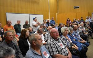 Hundreds turn out to oppose proposed farm labor housing plan