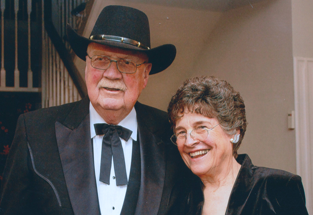 Paul and Elizabeth Evans celebrated 50 years of marriage in December 2012