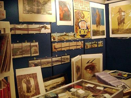 Stylish cards, photos and more at Vintage Paper Fair