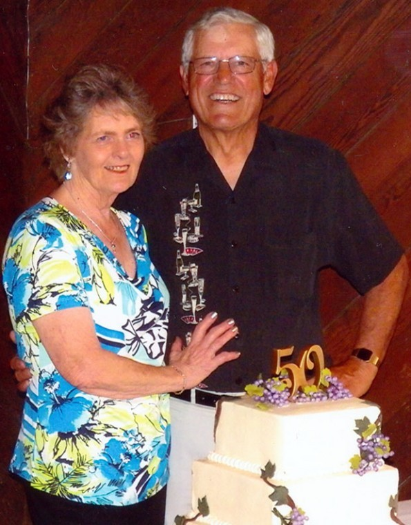 Roland and Linda Hatterle celebrate their 50th wedding anniversary