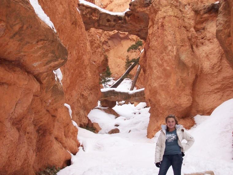 hiking in Bryce National Park, Utah
