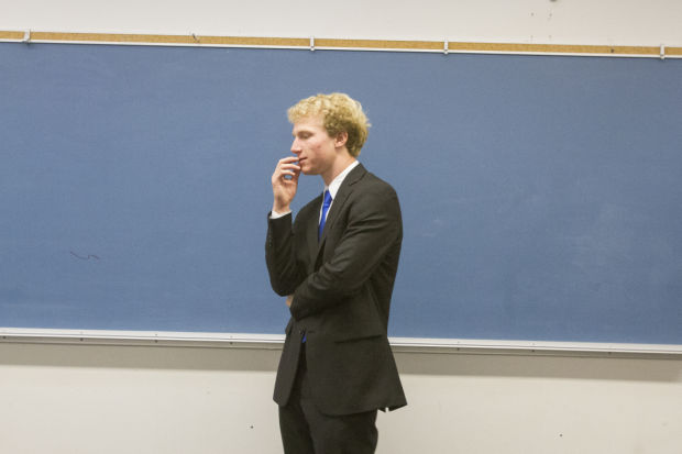 Lodi High School star athlete Ryan Ozminkowski finds his true power in public speaking contests
