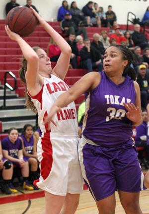 Girls basketball: Flames torch Tigers